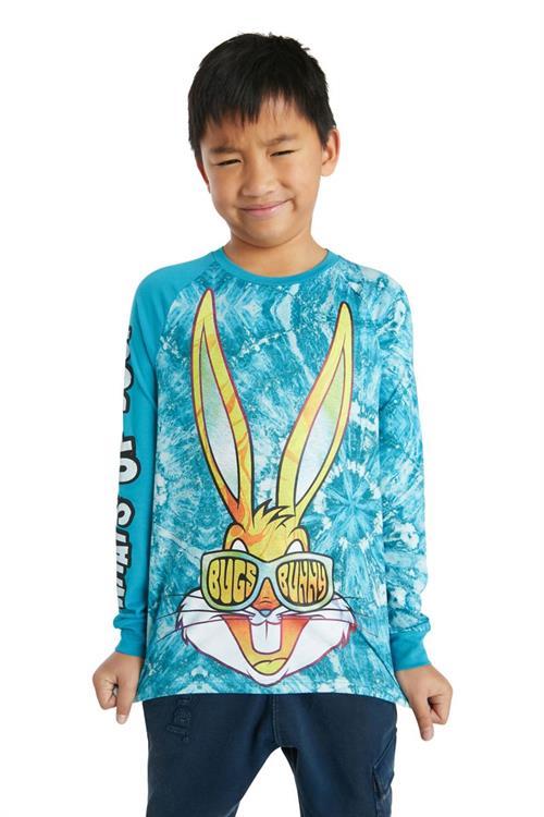 tričko Desigual David azul ultramar