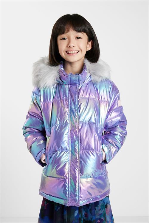 kabát Desigual Yang Tse candy pink