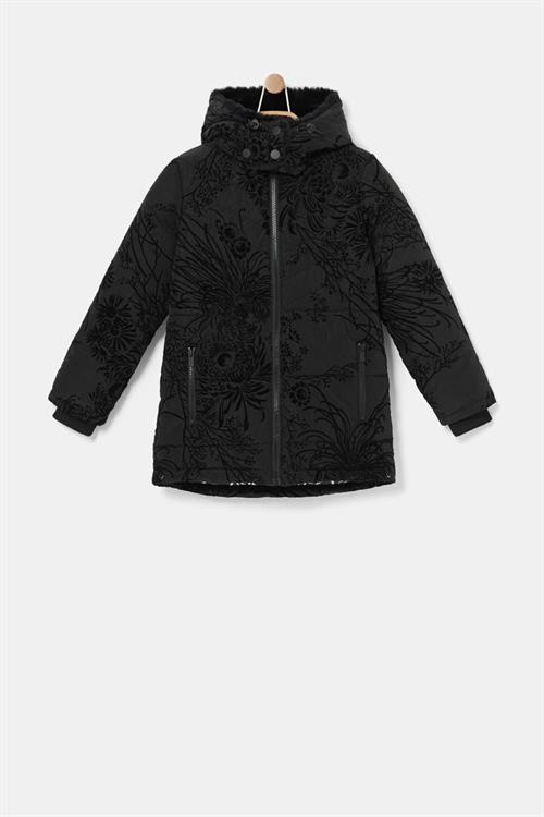 kabát Desigual Moselle negro