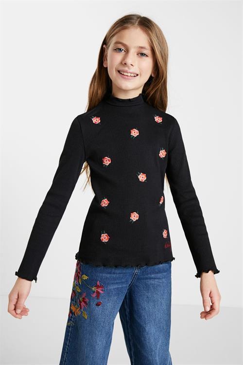 tričko Desigual Ada negro