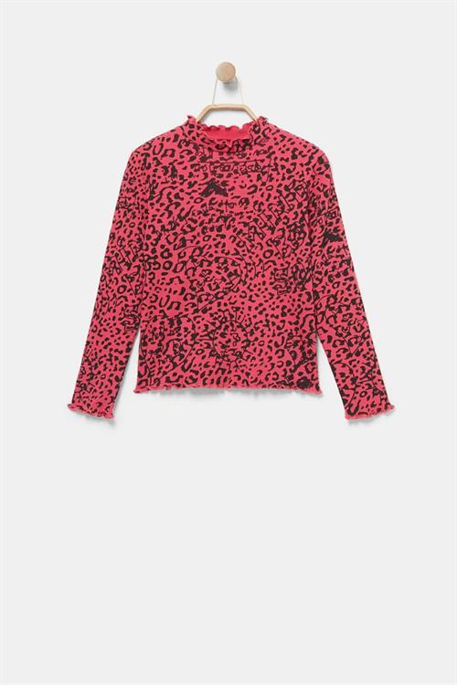 tričko Desigual Leo fucsia