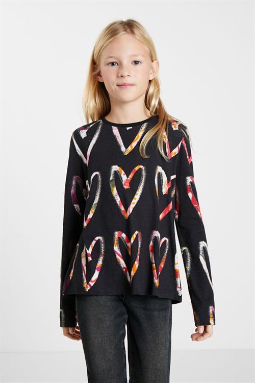 tričko Desigual Ana negro