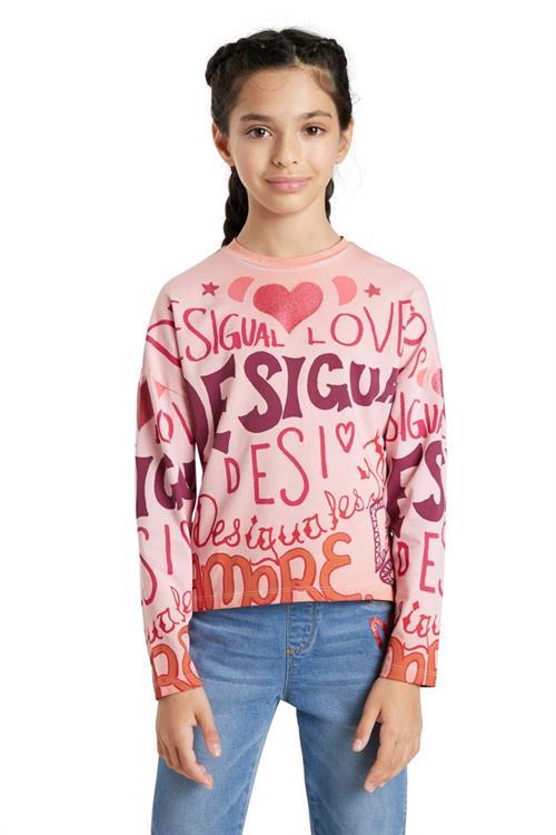 tričko Desigual Girl bubblegum