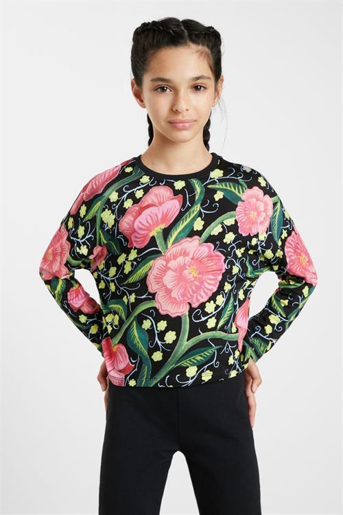 tričko Desigual Lucia negro