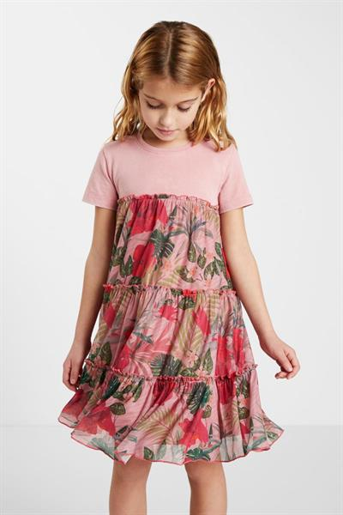 šaty Desigual Zafiro rosa antiguo
