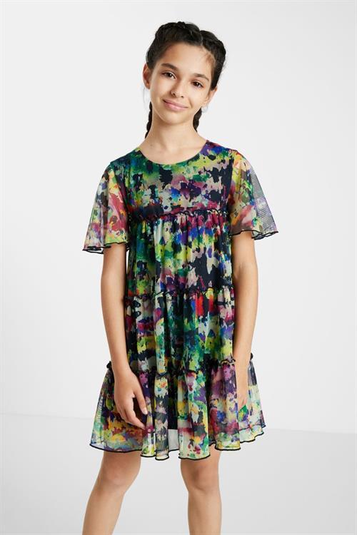 šaty Desigual Acroita verde selva