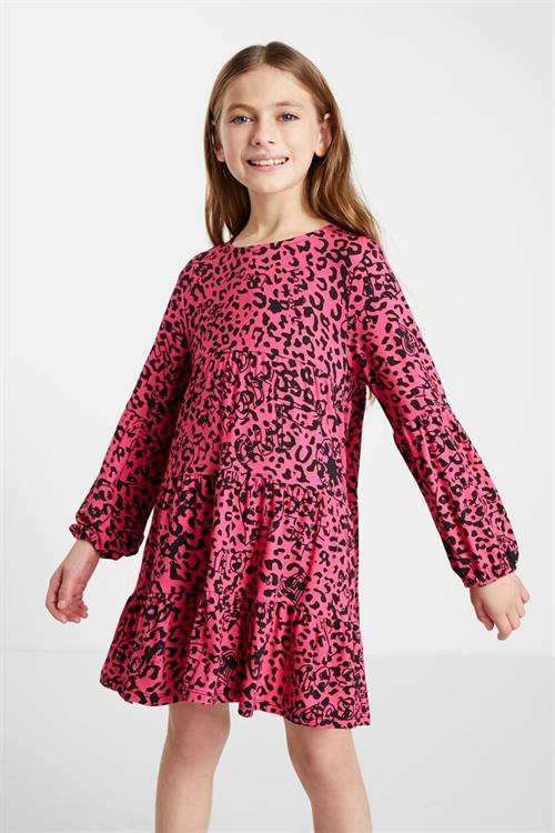 šaty Desigual Laura fucsia