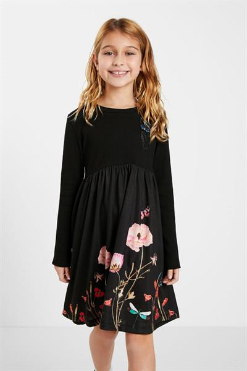 šaty Desigual Ariadna negro
