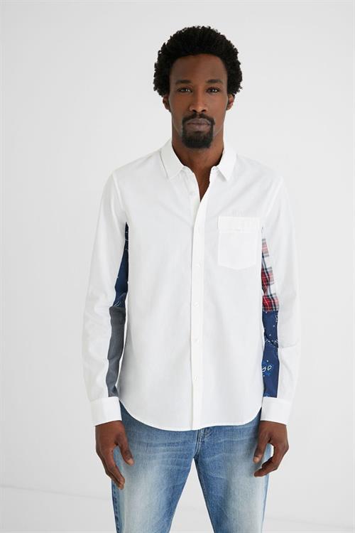 košile Desigual Dani blanco