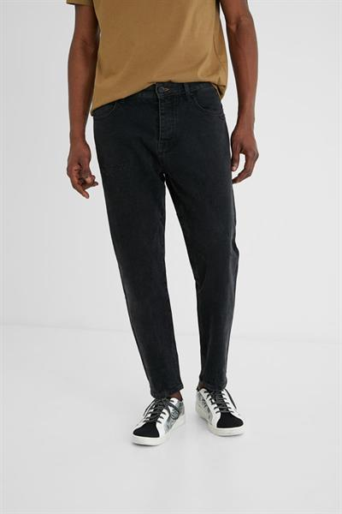 jeansy Desigual Mikel denim black wash