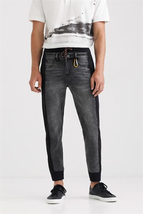 džínsy Desigual Filipo gris