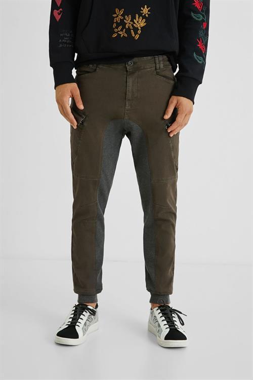 kalhoty Desigual Albern chocolate