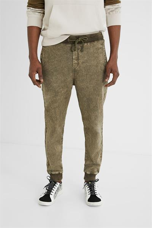 kalhoty Desigual Alfred kaki