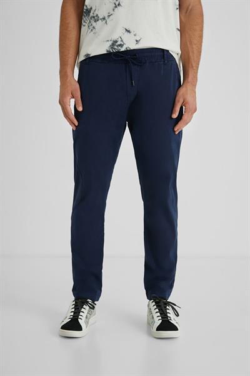 kalhoty Desigual Andrew navy