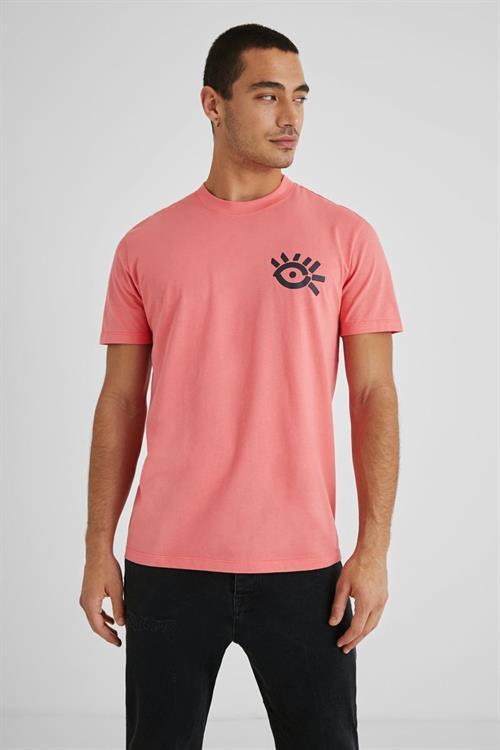 tričko Desigual Eye coral