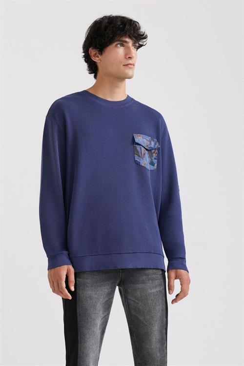 tričko Desigual Kenet navy