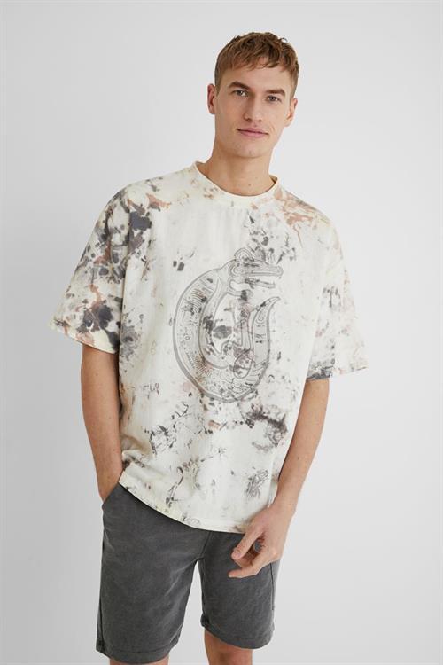 tričko Desigual Alexander crudo