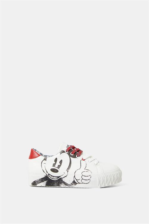 boty Desigual Street Mickey blanco