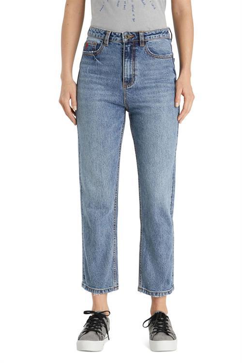 jeansy Desigual Scarf denim medium wash