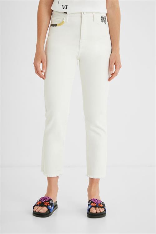 jeansy Desigual Támesis natural