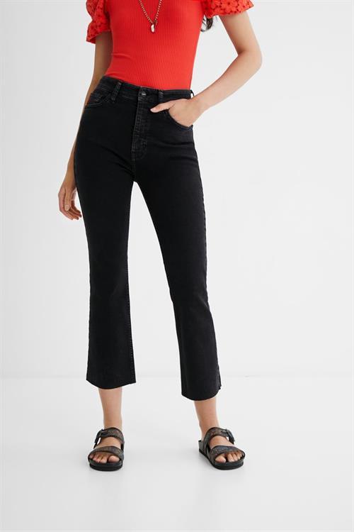 jeansy Desigual Selva denim black wash