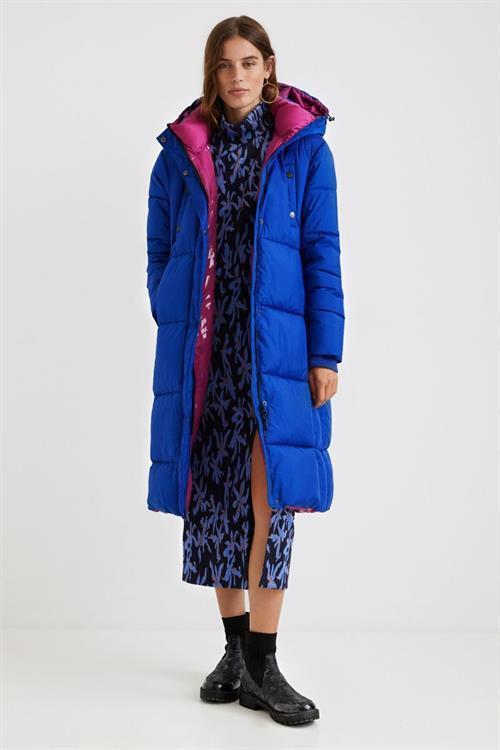 kabát Desigual Corea cielo
