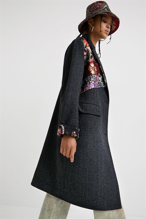 kabát Desigual Tomichi negro