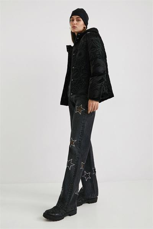kabát Desigual Vabenne negro