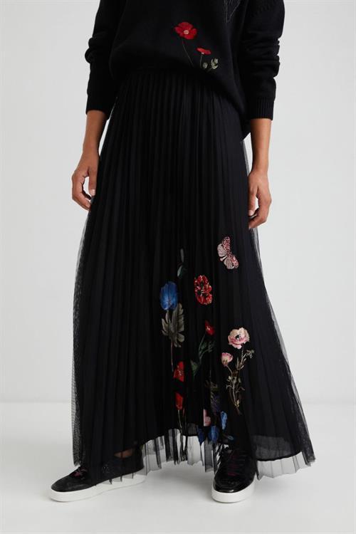 sukně Desigual Berro negro