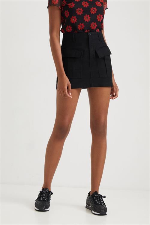 sukně Desigual Miami negro