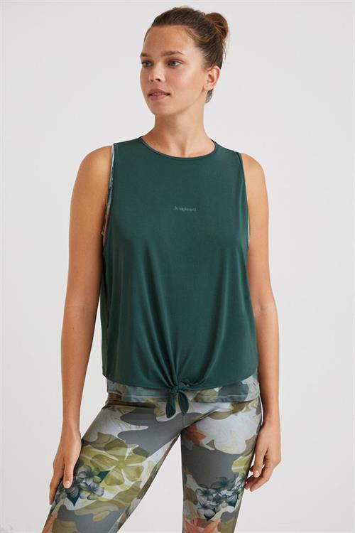 tričko Desigual Jan negro
