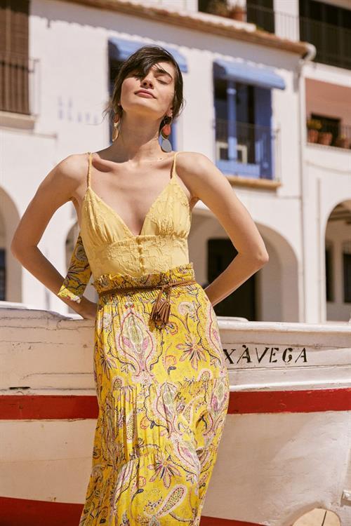 body Desigual Serena amarillo canario