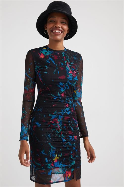 šaty Desigual Kameron negro