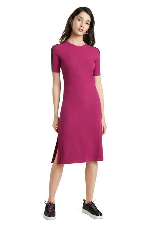 šaty Desigual Arich boysenberry